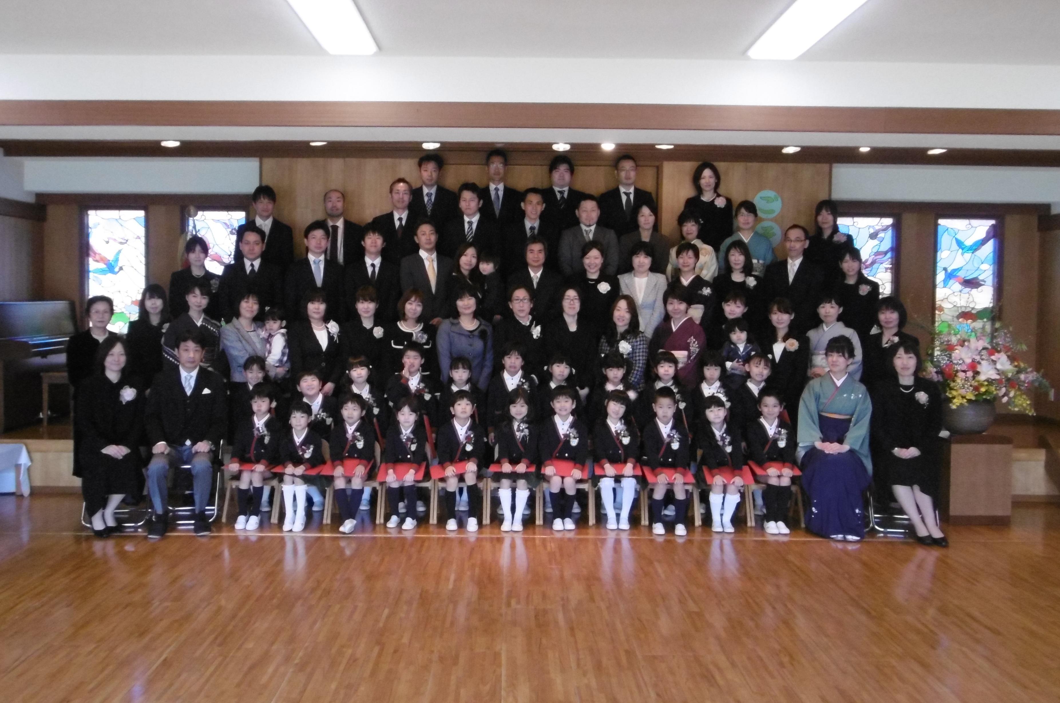 【本町】第100回 卒園式