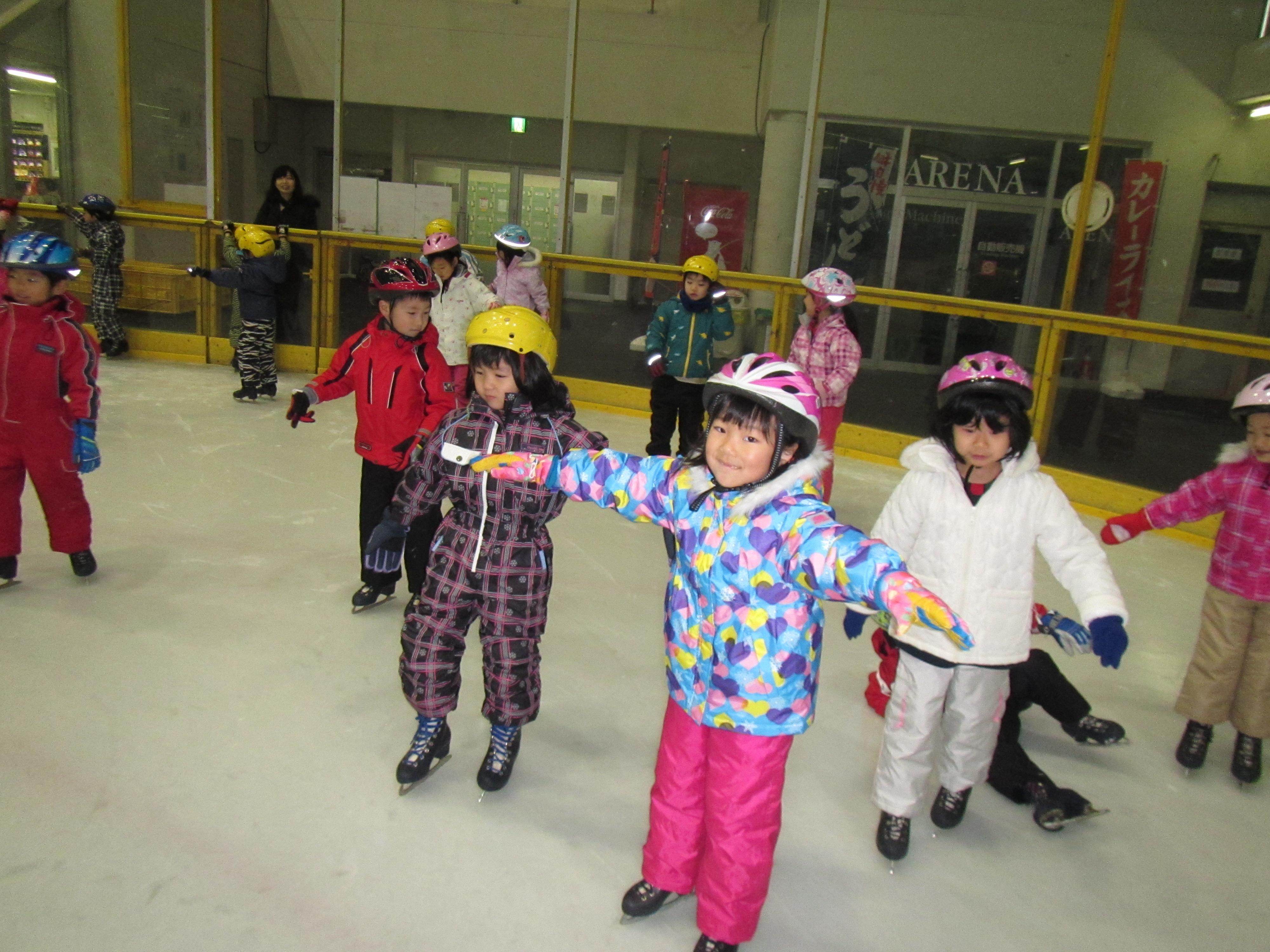 【年長】スケート教室