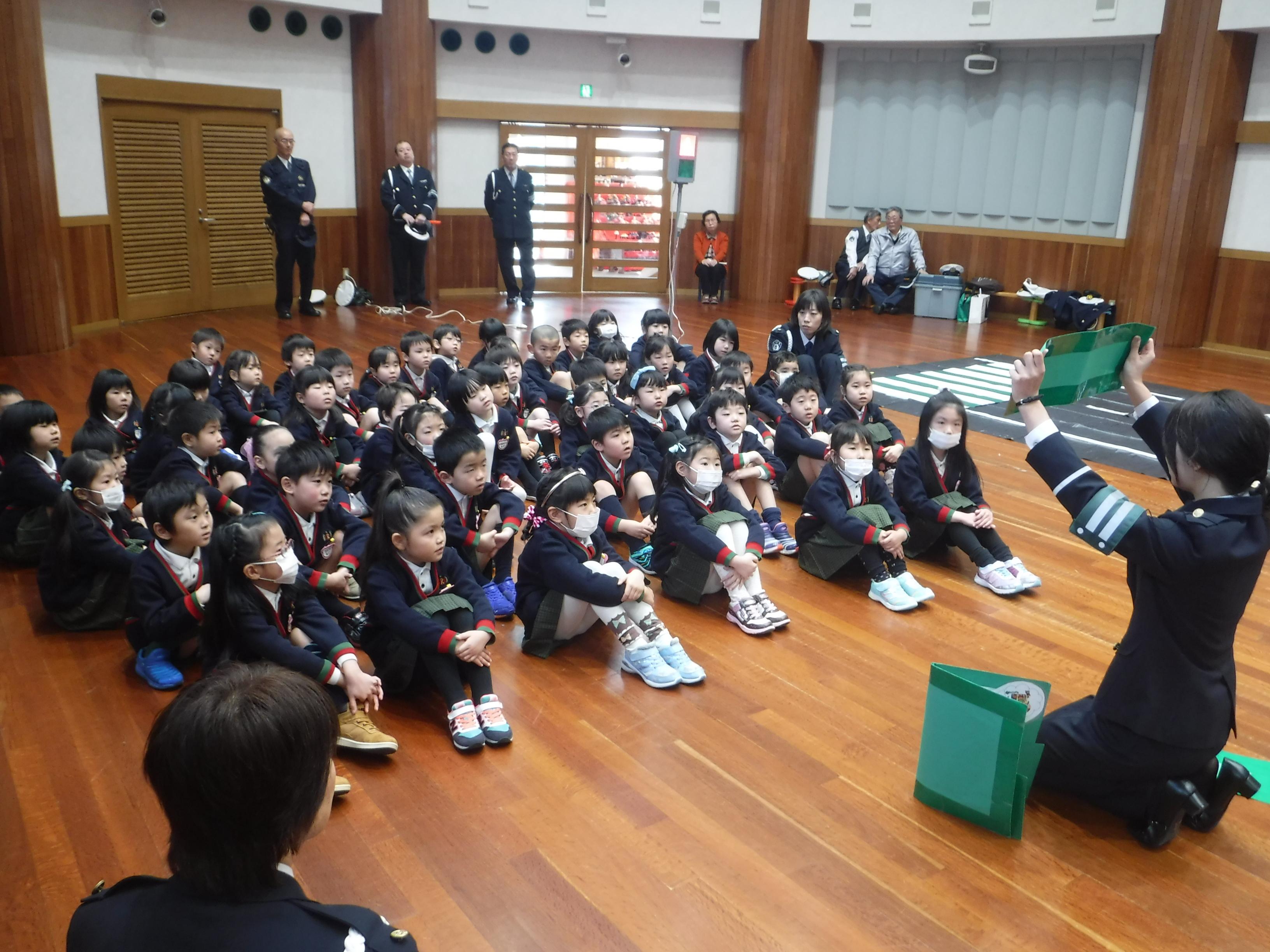 【第二年長】交通安全教室