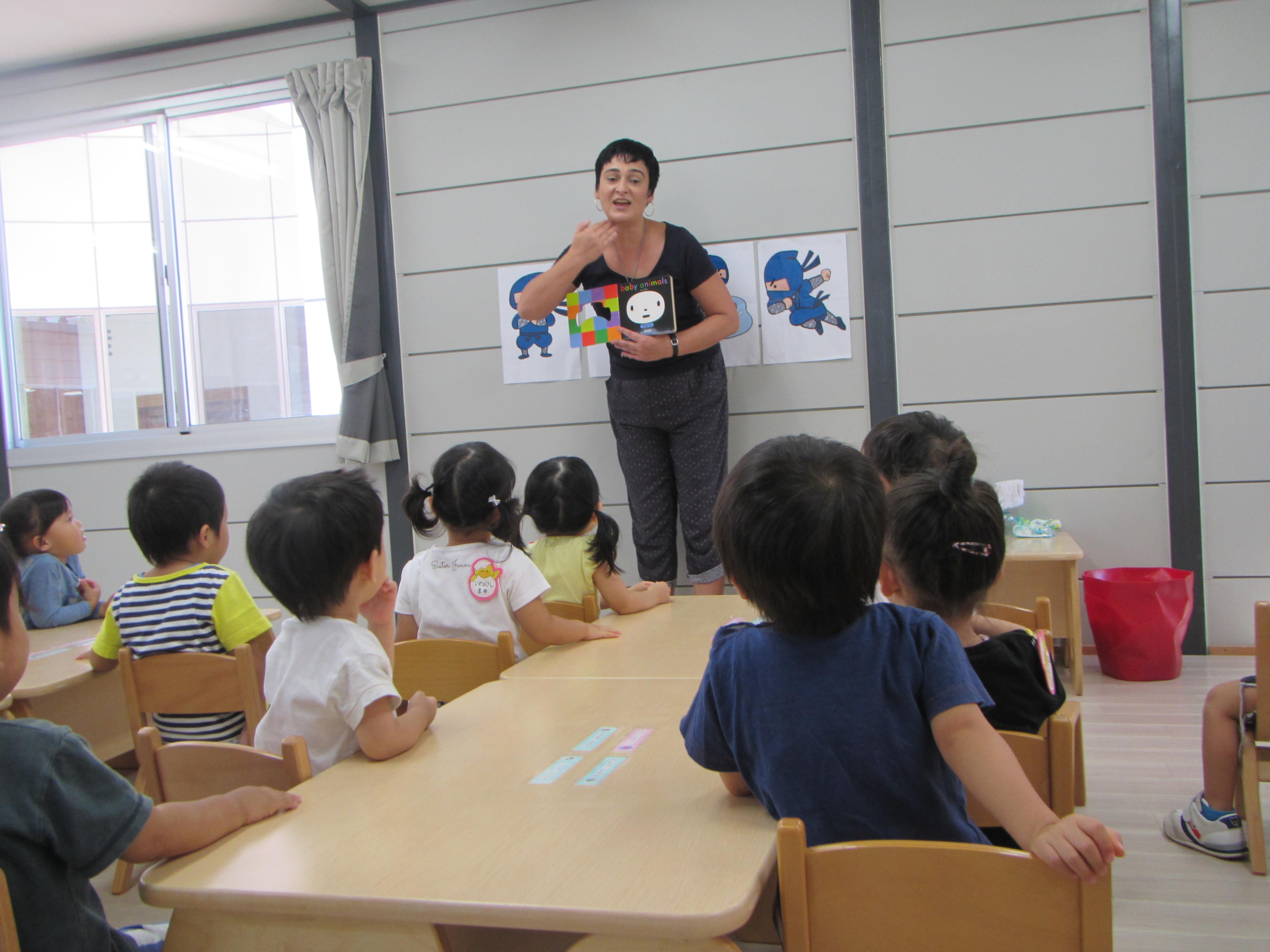 ♪初めての英語教室♪
