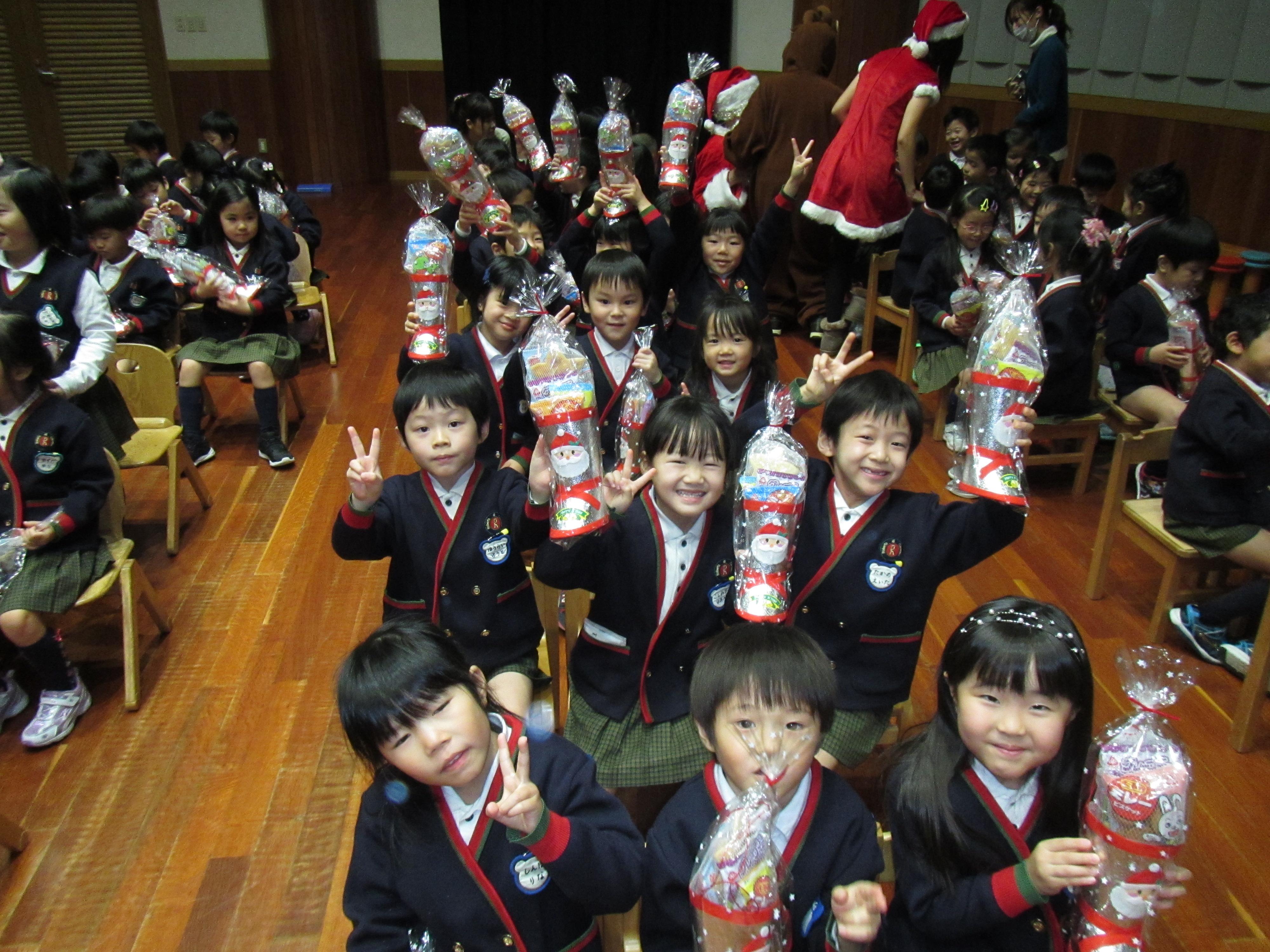 終業式・クリスマスお楽しみ会