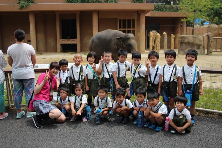 年長動物園見学~きくぐみ~