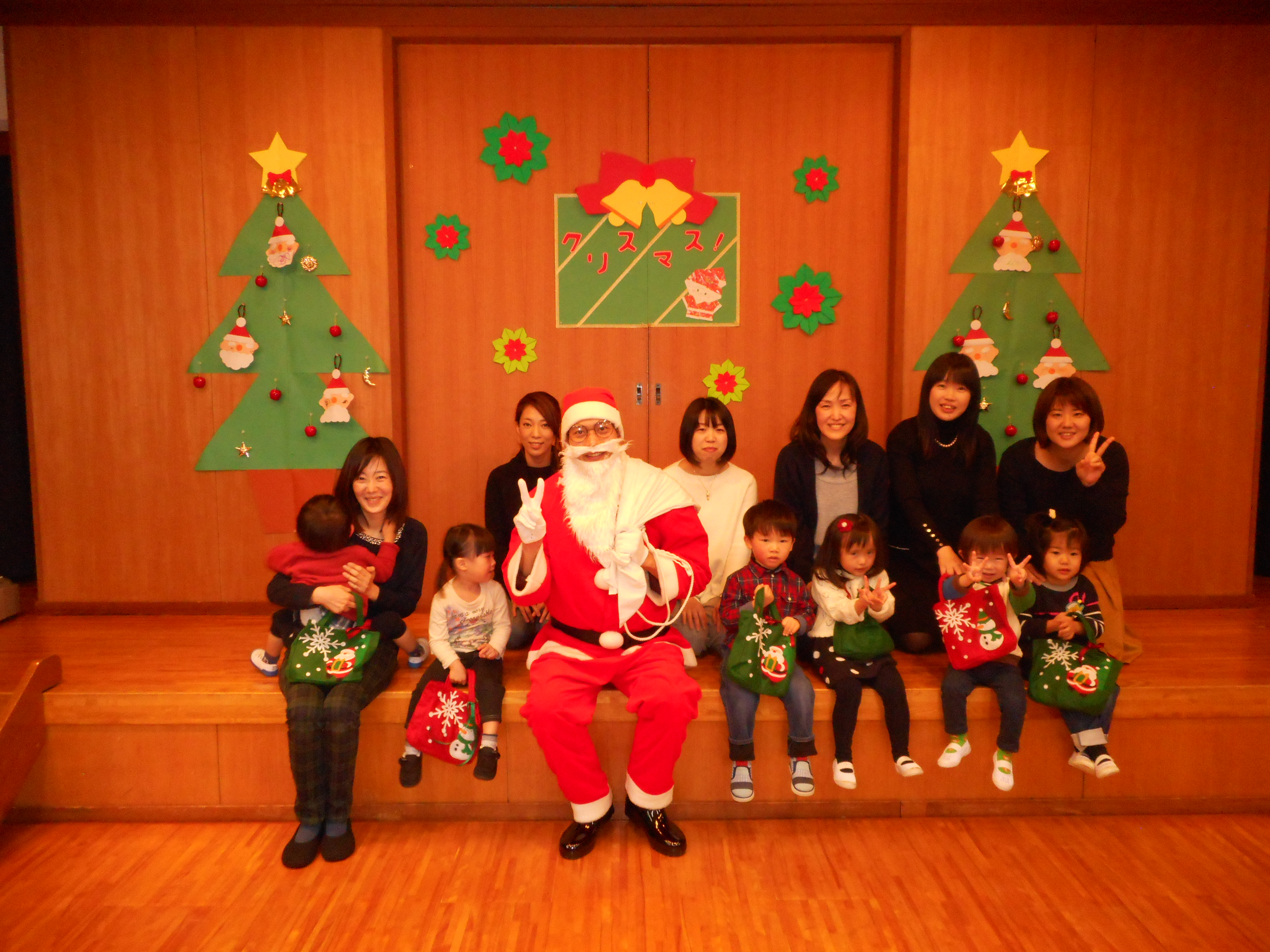 ☆クリスマス会☆ ~にじぐみ~