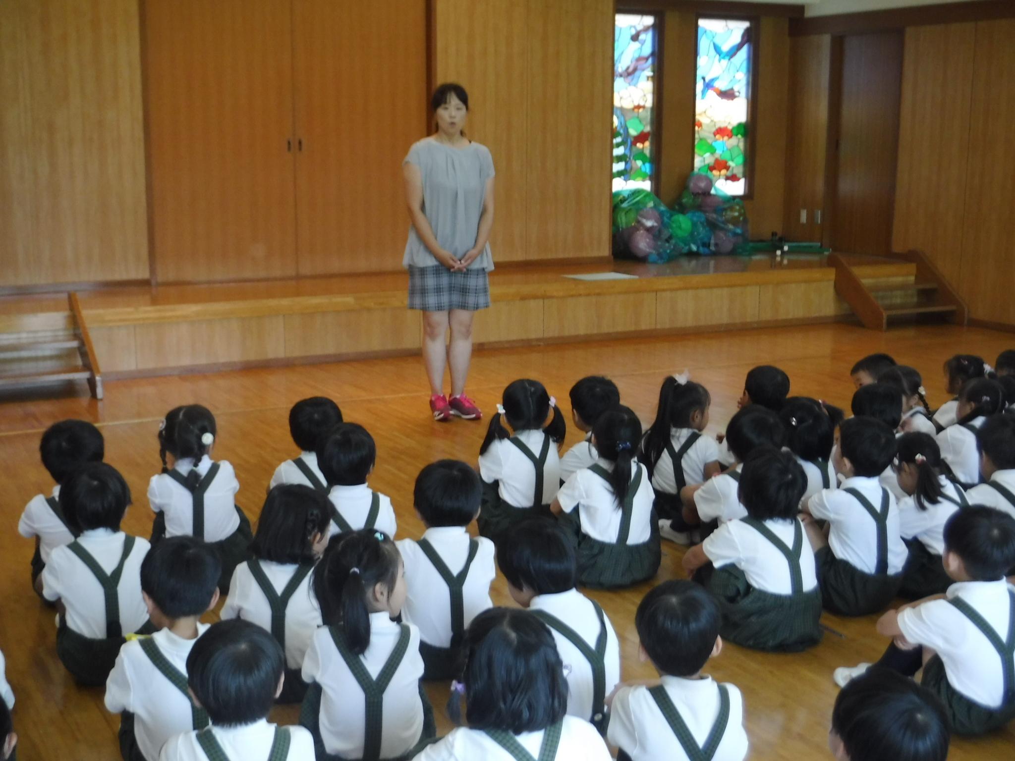 【本町】1学期終業式