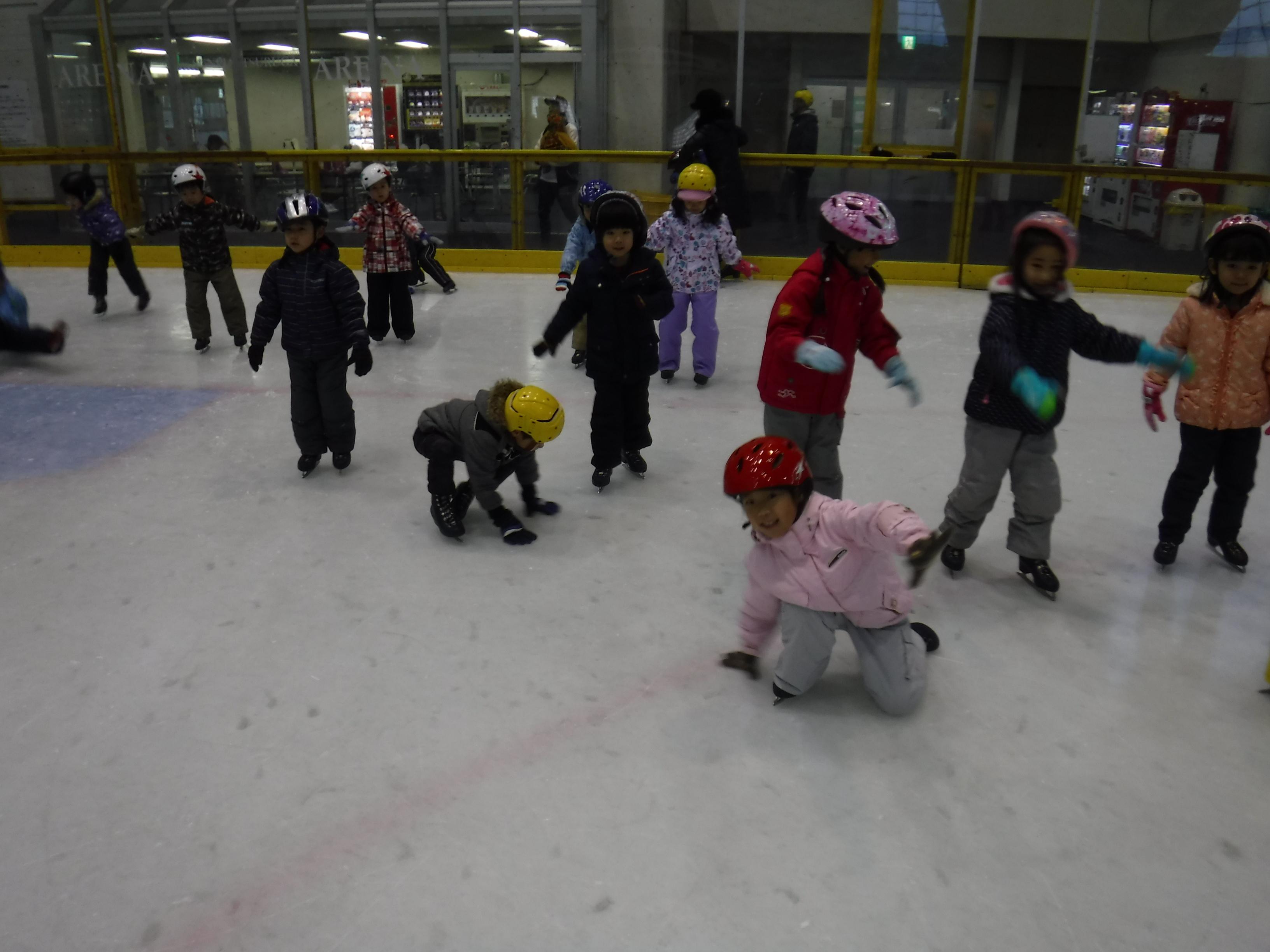 親子スケート教室【きく・ゆり】