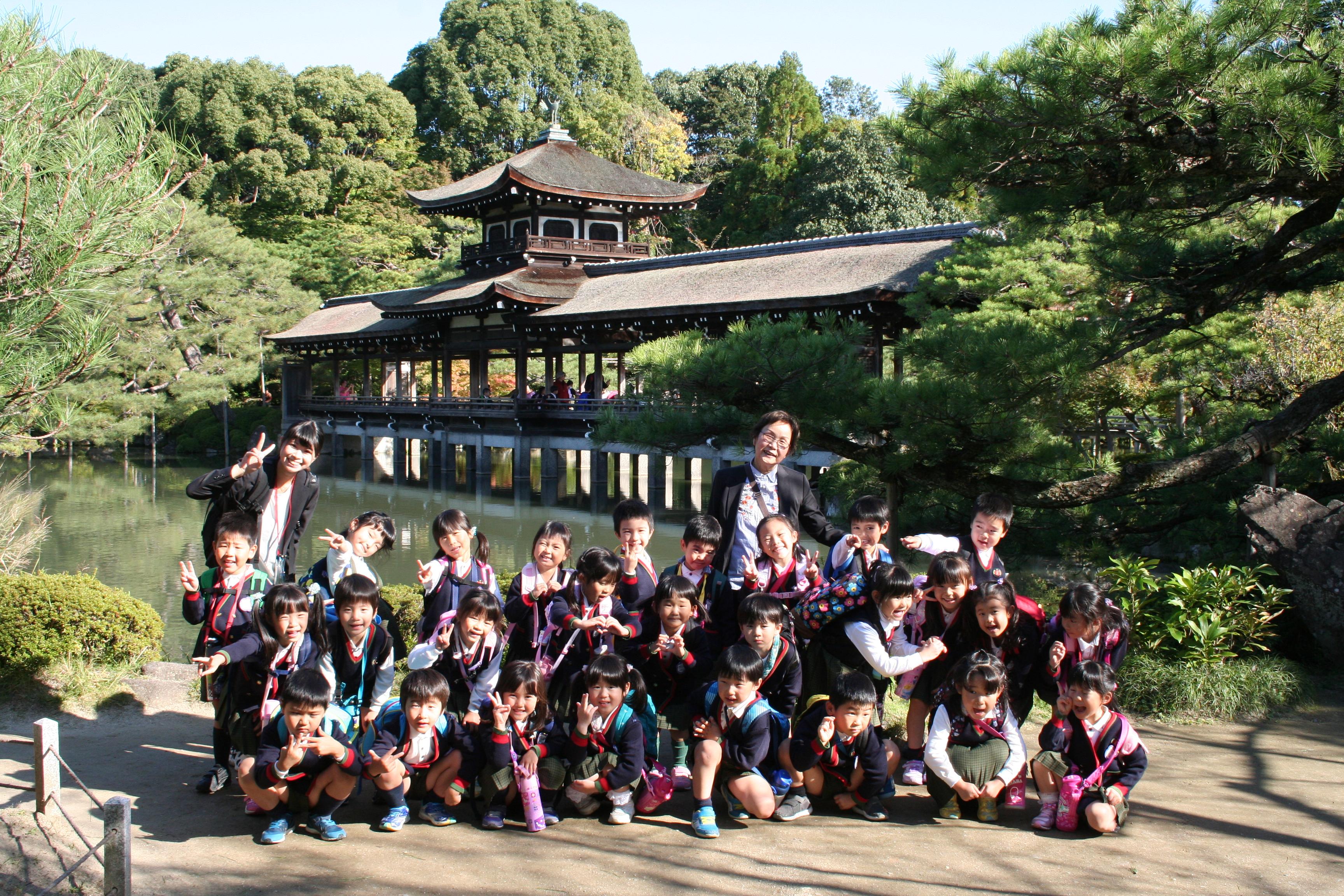 【年長組】美術館、平安神宮見学~ふじぐみ~