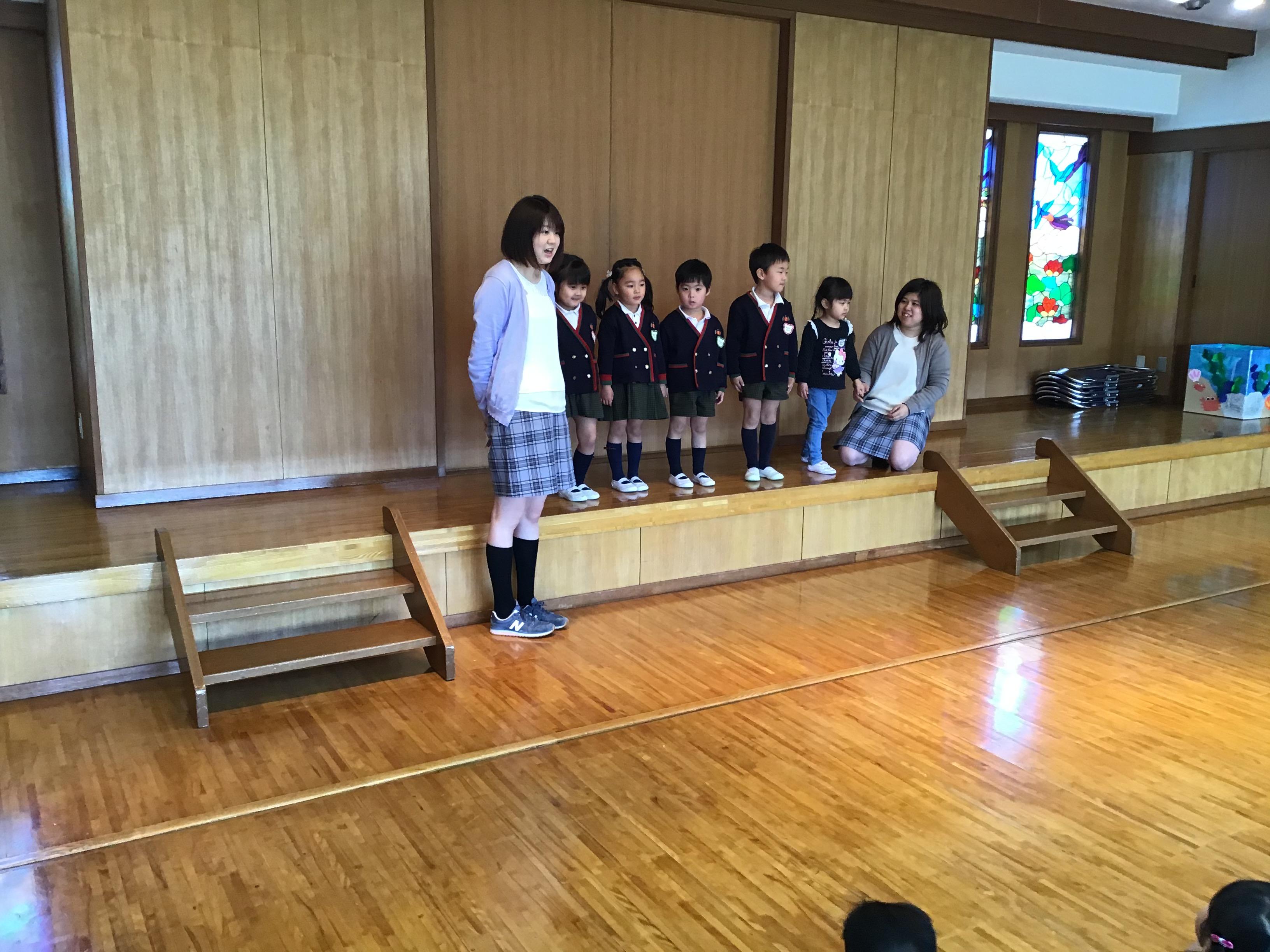 【本町】3学期終業式