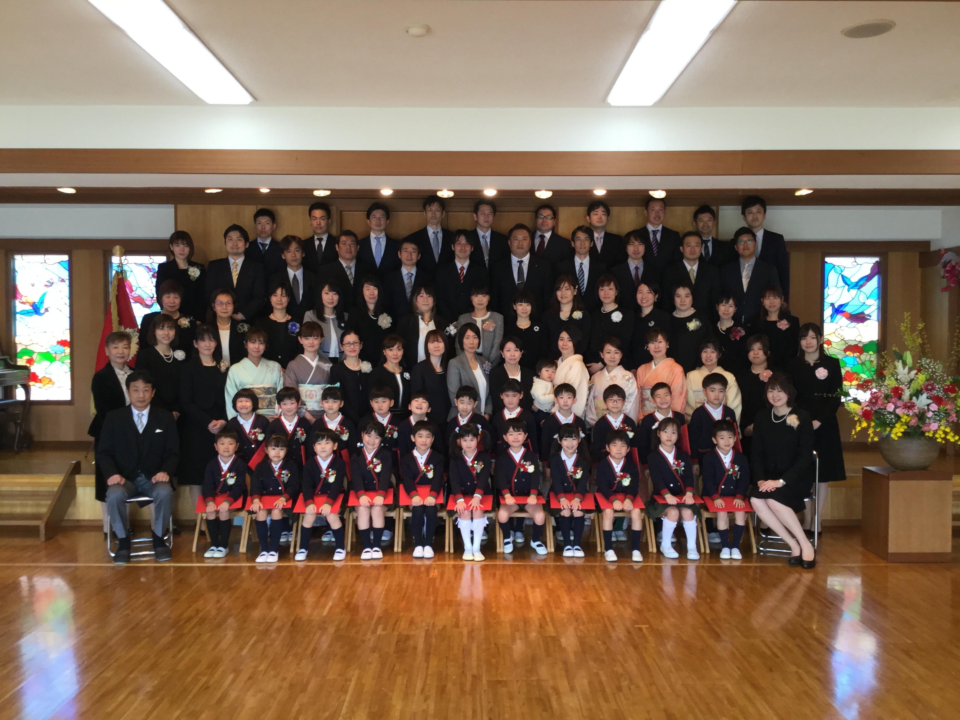 【本町】第104回 卒園式