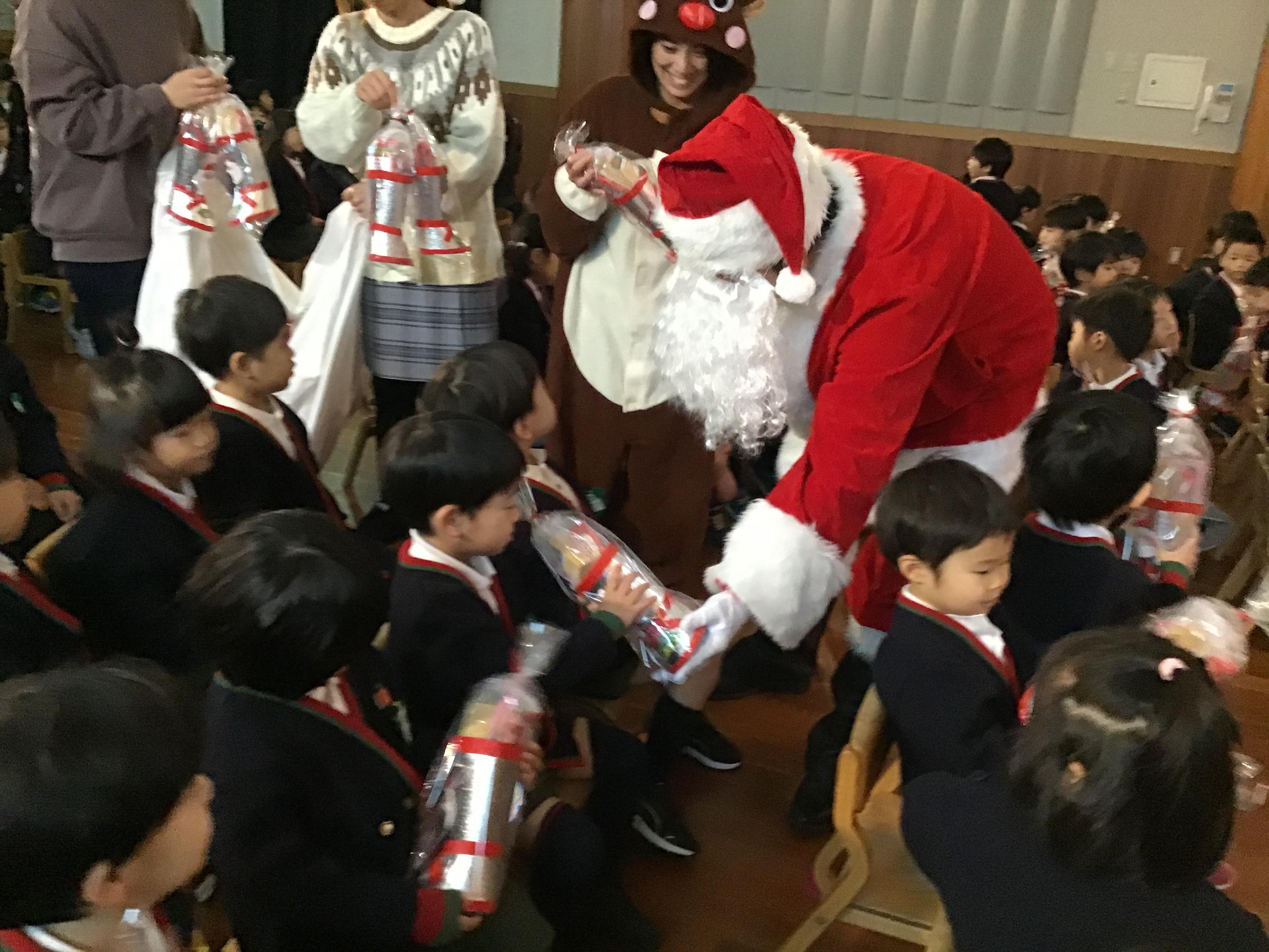 【第二】二学期終業式・クリスマスお楽しみ会